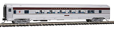 Con-Cor Budd 85' Corrugated-Side Twin-Window Coach Canadian Pacific -- N Scale Model Passenger Car -- #41485