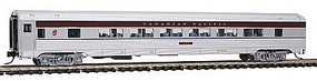 Con-Cor Budd 85 Corrugated-Side Twin-Window Coach Canadian Pacific N Scale Model Passenger Car #41485