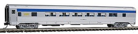 Con-Cor Budd 85 Corrugated-Side Twin-Window Coach VIA Rail Canada N Scale Model Passenger Car #41488