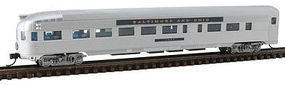 Con-Cor Budd Round End Observation Car Baltimore & Ohio N Scale Model Train Passenger Car #41506