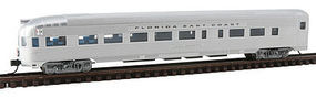 Con-Cor Budd Round End Observation Car Florida East Coast N Scale Model Train Passenger Car #41508