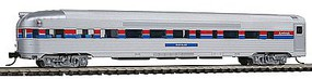 Con-Cor Budd 85 Corrugated-Side Round-End Observation Amtrak N Scale Model Train Passenger Car #41509