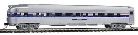 Con-Cor Budd 85 Corrugated-Side Round-End Observation Amtrak N Scale Model Train Passenger Car #41511