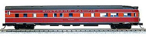 Con-Cor Budd 85 Round-End Observation Southern Pacific N Scale Model Train Passenger Car #41516