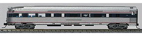 Con-Cor Budd 85 Fluted-Side Round-End Observation Amtrak #3341 N Scale Model Passenger Car #41517