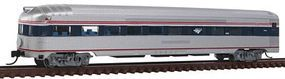 Con-Cor Budd 85 Fluted-Side Round-End Observation Amtrak #3342 N Scale Model Passenger Car #41518