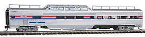 Con-Cor Pullman-Standard 85 Corrugated-Side Pleasure Dome Amtrak N Scale Model Passenger Car #41534