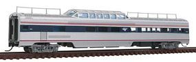 Con-Cor Pullman-Standard 85 Mid-Train Dome Amtrak #9424 N Scale Model Train Passenger Car #41543