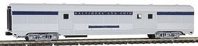 Con-Cor Budd 72 Streamlined Baggage Car Baltimore & Ohio N Scale Model Train Passenger Car #423106
