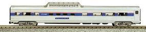 Con-Cor Budd 85 Streamlined Mid-Train Dome Amtrak Phase IV N Scale Model Train Passenger Car #424111