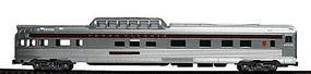Con-Cor Budd 85 Streamlined Dome Observation Pennsylvania N Scale Model Passenger Car #425103