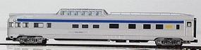 Con-Cor Budd 85 Streamlined Dome Observation Via Rail N Scale Model Train Passenger Car #425113