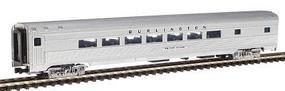 Con-Cor Budd Streamlined Parlor Car Chicago, Burlington & Quincy N Scale Model Passenger Car #426105