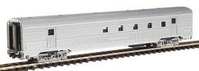 Con-Cor Budd Streamlined Corrugated Side 72 RPO Car Undecorated N Scale Model Passenger Car #427100