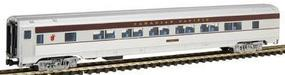 Con-Cor Budd Streamlined Twin Window Coach Canadian Pacific N Scale Model Train Passenger Car #429110