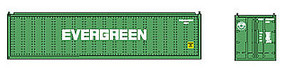 Con-Cor 40 Container Evergreen #1 N Scale Model Train Freight Car #43005
