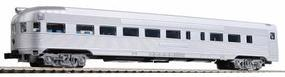 Con-Cor Budd Streamlined Round End Observation Car Undecorated N Scale Model Passenger Car #430100