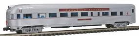 Con-Cor Budd Streamlined Round End Observation Canadian Pacific N Scale Model Passenger Car #430110