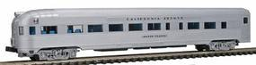 Con-Cor Budd Streamlined Round End Observation California Zephyr N Scale Model Passenger Car #430112