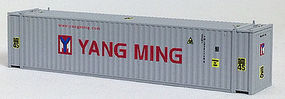 Con-Cor 45 Corrugated Container Yang Ming N Scale Model Train Freight Car Load #44102