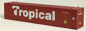 Con-Cor 45 Corrugated Container Tropical N Scale Model Train Freight Car Load #44103