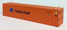 Con-Cor 45 Corrugated Container HAPAG N Scale Model Train Freight Car Load #44113