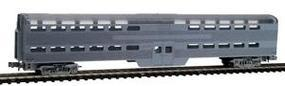 Con-Cor Pullman Standard Bi-Level Commuter Cab Undecorated N Scale Model Train Passenger Car #4430