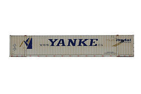 Con-Cor 48 Container Yanke #1 N Scale Model Train Freight Car #448023