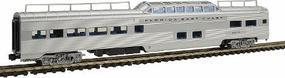 Con-Cor Pullman-Standard Pleasure Dome Florida East Coast N Scale Model Train Passenger Car #450108