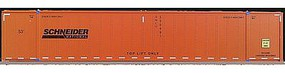 Con-Cor Monon 53' Rivet-Side Container 2-Pack Schneider N Scale Model Freight Car #453025
