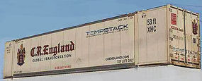 Con-Cor 53 Container JB Hunt N Scale Model Train Freight Car #453201