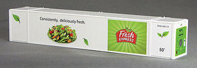 Con-Cor 53 Reefer Container Fresh Express #1 N Scale Model Train Freight Car Load #453215