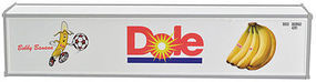 Con-Cor 40 Reefer Container 2-Pack Dole DFIU #765386-4, 765399-2 HO Scale Model Freight Car #483004