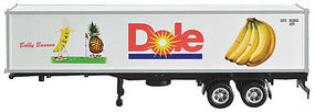 Con-Cor 40 Reefer Container on Chassis Dole DFIU #801850-3 HO Scale Model Freight Car #483005