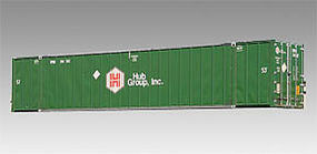 Con-Cor 53 Sheet/Post Rivet Side Container Hub Group #1 & 2 HO Scale Model Train Freight Car #488027