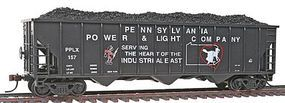 Con-Cor 100-Ton 3-Bay Hopper Pennsylvania Power & Light #2 HO Scale Model Freight Car #520
