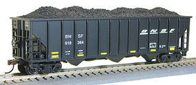 Con-Cor 100T 12 Panel Hop BNSF #1 HO Scale Model Train Freight Car #538