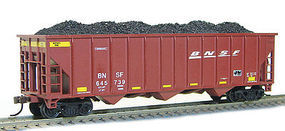 Con-Cor 100T 12 Panel Hop BNSF #3 HO Scale Model Train Freight Car #540