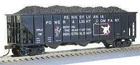 Con-Cor 100T 12 Panel Hop PPLX #1 HO Scale Model Train Freight Car #542