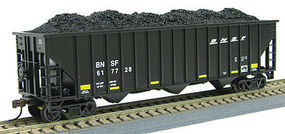 Con-Cor 100T 15 Panel Hop BNSF #1 HO Scale Model Train Freight Car #544