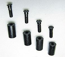 Con-Cor Metal Screw & Post 4/ - N-Scale (4)