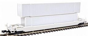 Con-Cor 125-Ton Husky Stack Intermodal Well Car Undecorated N Scale Model Train Freight Car #603100
