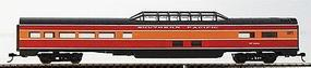 Con-Cor 85 Corrugated Dome Southern Pacific Daylight HO Scale Model Train Passenger Car #71107