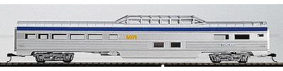 Con-Cor 85 Streamlined Vista Dome Via Rail HO Scale Model Train Passenger Car #71111