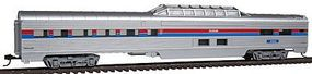Con-Cor 85 Corrugated Dome Car Amtrak HO Scale Model Train Passenger Car #7205