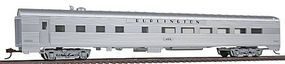 Con-Cor 85 Streamlined Diner Chicago, Burlington & Quincy HO Scale Model Train Passenger Car #72102