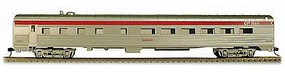 Con-Cor 85 Streamline Corrugated Diner Canadian Pacific HO Scale Model Train Passenger Car #72109