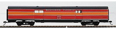 Con-Cor 70' Corrugated Baggage Car Southern Pacific ''Daylight'' -- HO Scale Model Passenger Car -- #74107