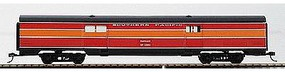Con-Cor 70' Corrugated Baggage Car Southern Pacific ''Daylight'' HO Scale Model Passenger Car #74107
