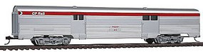 Con-Cor 70 Streamline Corrugated Baggage Car Canadian Pacific HO Scale Model Passenger Car #74109